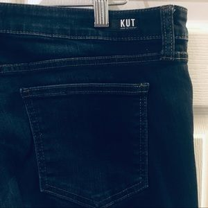 Kut From The Kloth Connie Ankle Skinny Raw Hem 16